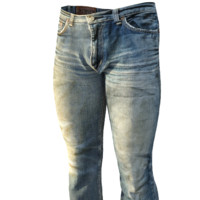 Faded Boot Cut Jeans(Low Poly)