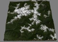 3d model mesh mount olympus