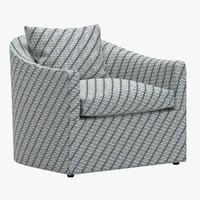 3d model chair 121