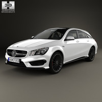 Mercedes-Benz CLA-Class (C117) ShootingBrake AMG 2014