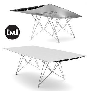 barcelona design table obj