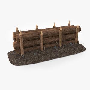 wood barricade pbr v2 max