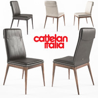 cattelan sofia chairs 3d obj