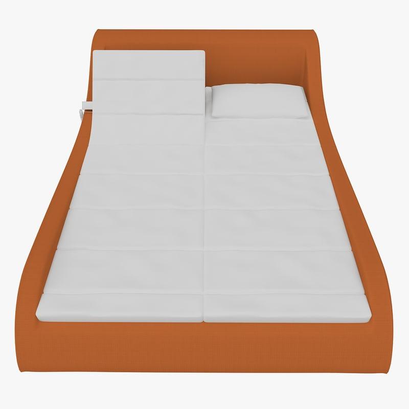 orthopedic relaxing bed 3d model