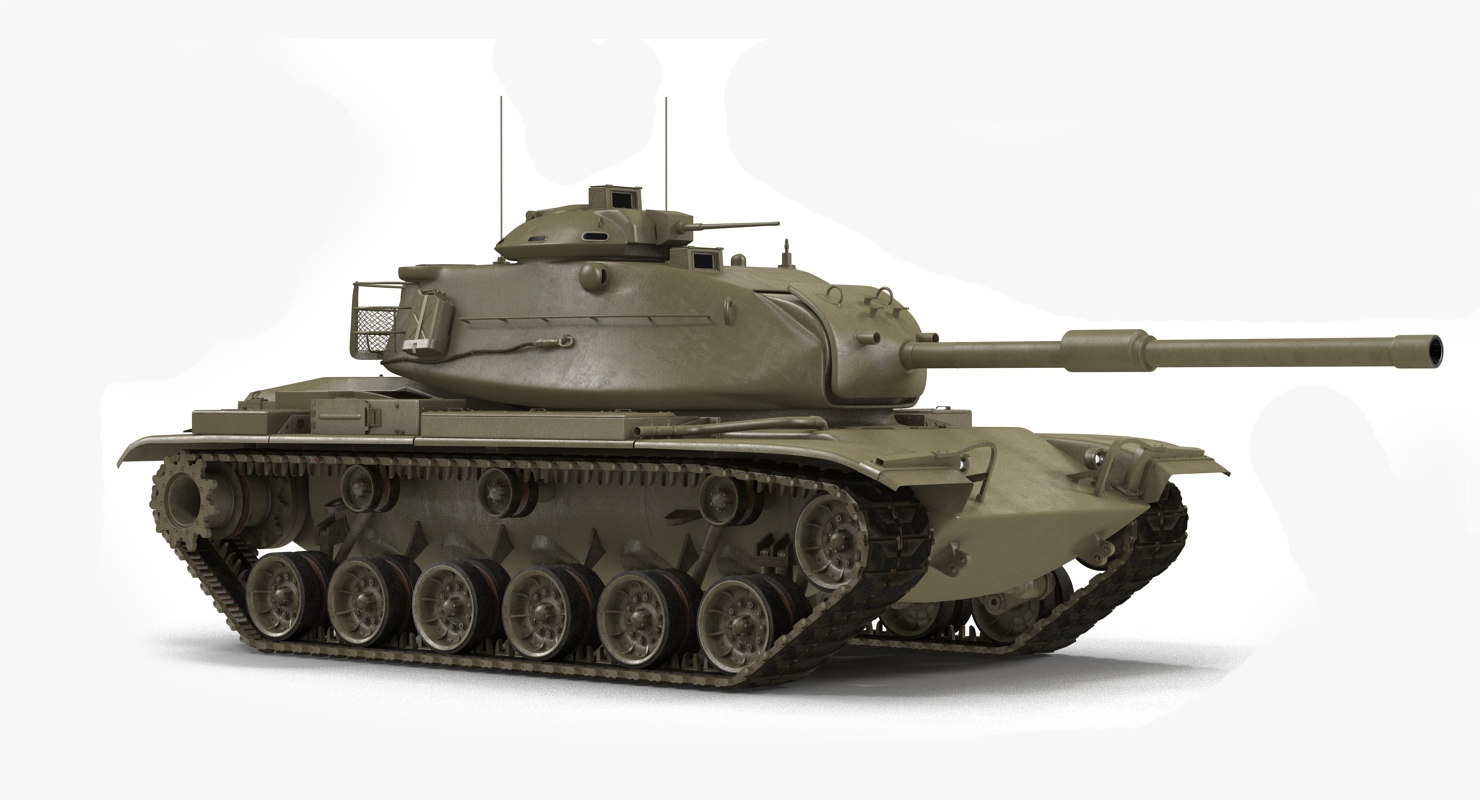 3d model m60 patto