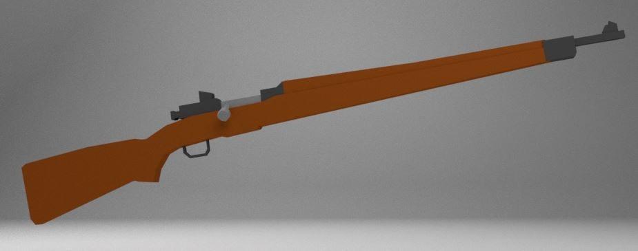 3d springfield bolt-action model