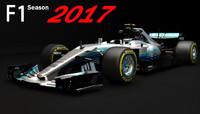 F1 Mercedes AMG W08 2017