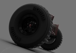 3d offroad car suspension