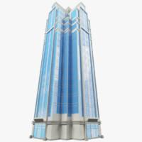 background skyscraper sky 3d max