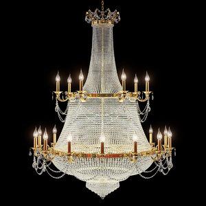 chandelier dio 3d model