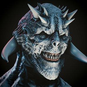 demon 3d blend