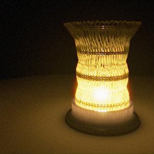 3d night lamp model