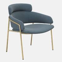 armchair chair debi 3d model