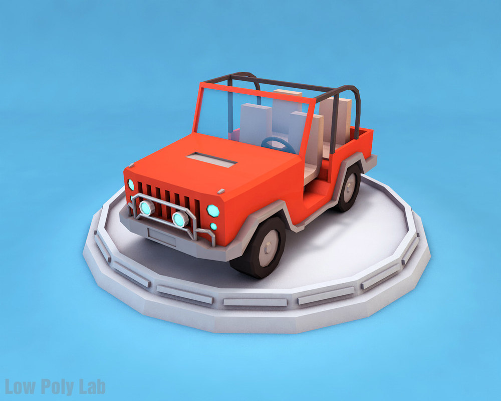 3d jeep vehicle