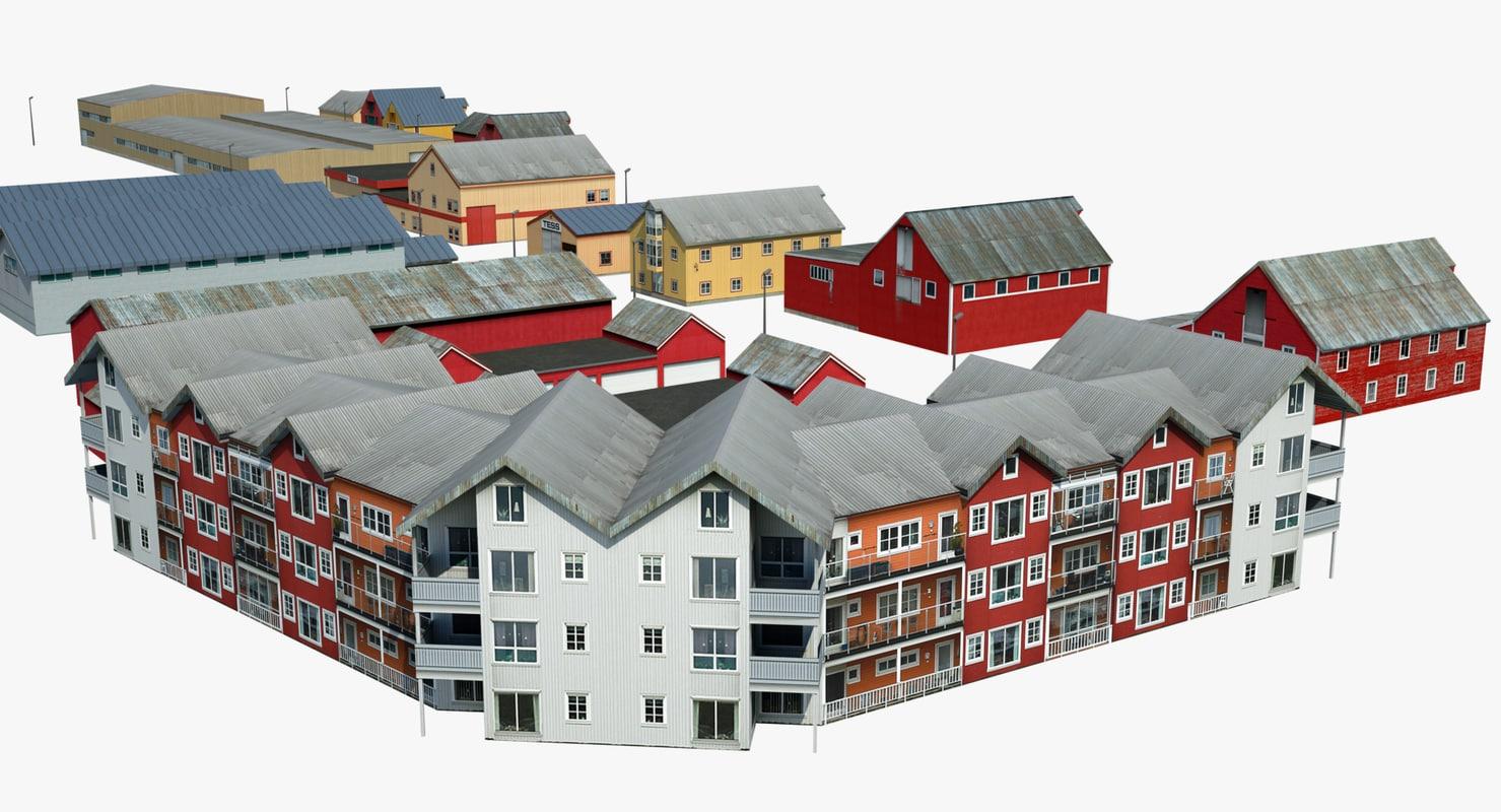 group norwegian houses max