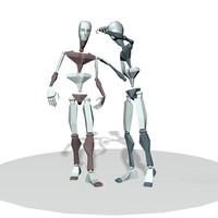 Dual walking talk