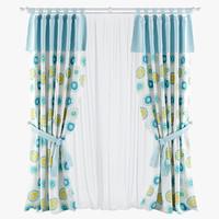 Crossed curtain