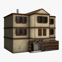 3d model house animation