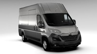 citroen relay van l4h3 3d 3ds