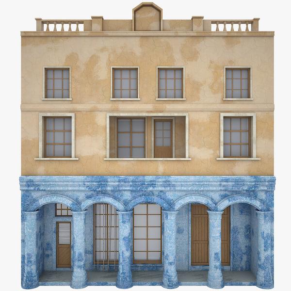 realistic facade 3d max