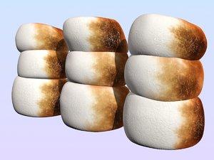 marshmallows burned max
