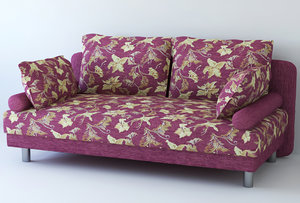 fabric sofa 3d max