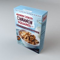 box trader joes cinnamon 3d model