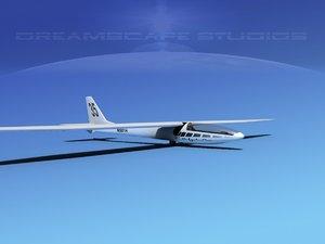 glider zefir 4 3d max