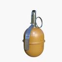 rgd-5 grenade 3D models