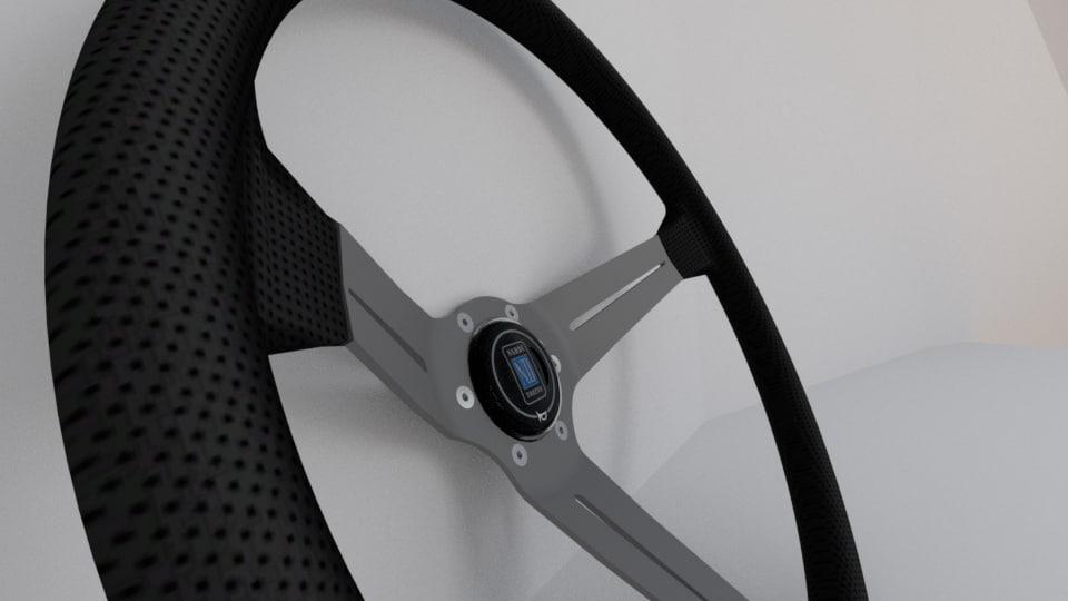 3d 3ds nardi torino steering wheel
