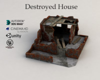 destroyed house max free