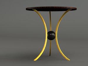 jules table 3d model