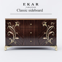 ekar classic sideboard 3d max