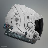astronaut helmet explorer mk1 3d obj
