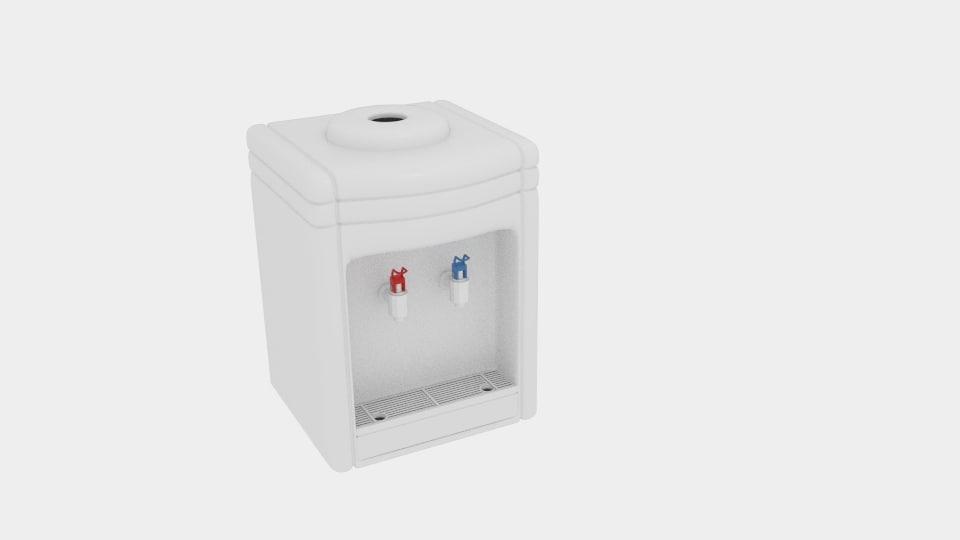 3d model germes online water dispenser