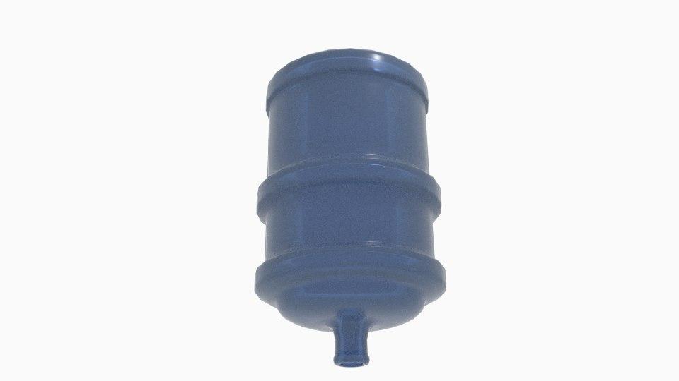 3d model germes online gallon dispenser