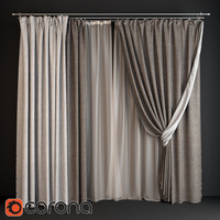 Curtain gray