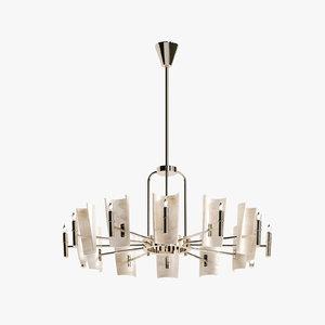 3d fuse barcelona chandelier 5016 model