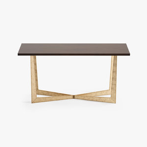 porta tapering x console table 3d max