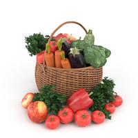 vegetables basket max