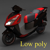 scooter irbis lx 3d model