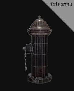 hydrant 3d x
