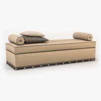 meissen couture - day bed 3d ma