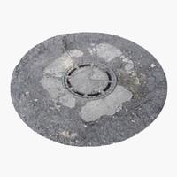 Manhole Cover 02