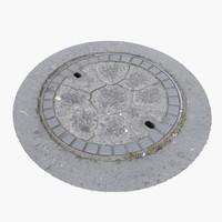 Manhole Cover 09