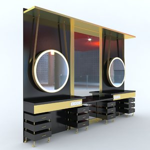 furniture salons 3d model