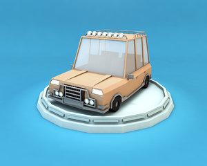 family car vehicle 3d model