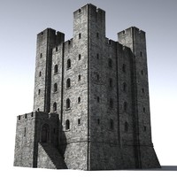 3d max medieval castle