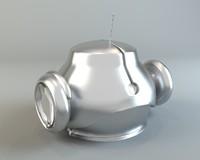 3d max robot head