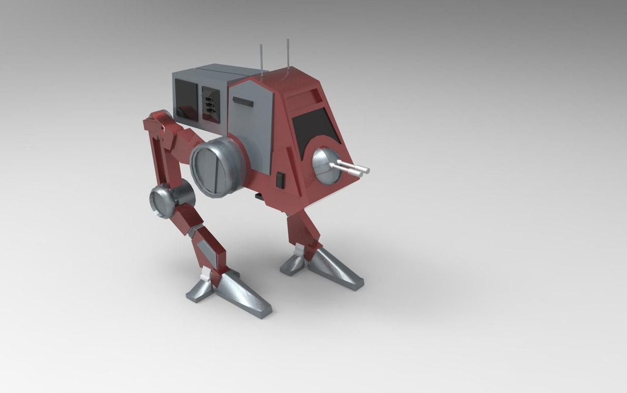 starwars 3d model